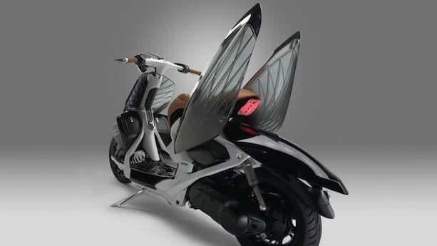 Yamaha 04GEN – Nova Scooter com Visual de Inseto