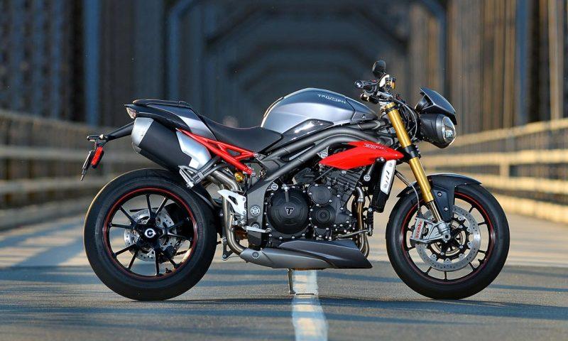Versão luxuosa da Triumph Speed Triple será lançada no Brasil